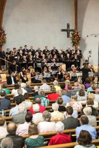 Marco Schilling 27.06.2015 WNB Grosssachsen Großsachsen / Christkoenigskirche / Konzert 120 Jahre katholischer Kirchenchor St. Jakobus