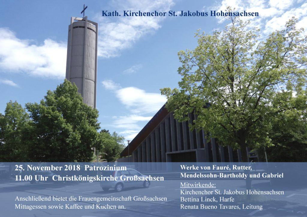 Patrozinium Christkönigkirche Großsachsen