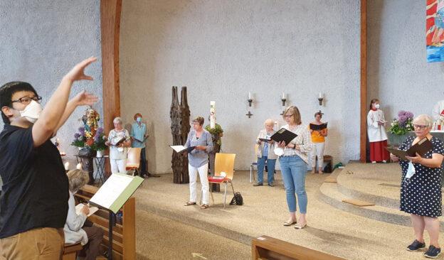 Kirchenchor startet ins 2. Halbjahr 2021